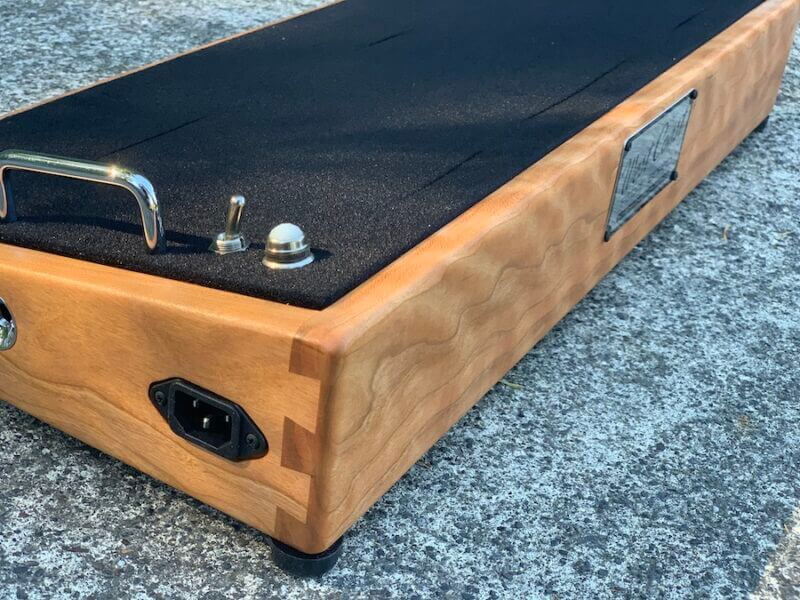 24X12 Figured Cherrywood Pedalboard - Ready to Ship 2