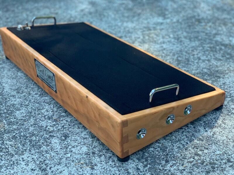 24X12 Figured Cherrywood Pedalboard - Ready to Ship 3