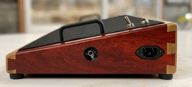 28X12 Figured Flame Maple & Padauk - Ready to Ship 1
