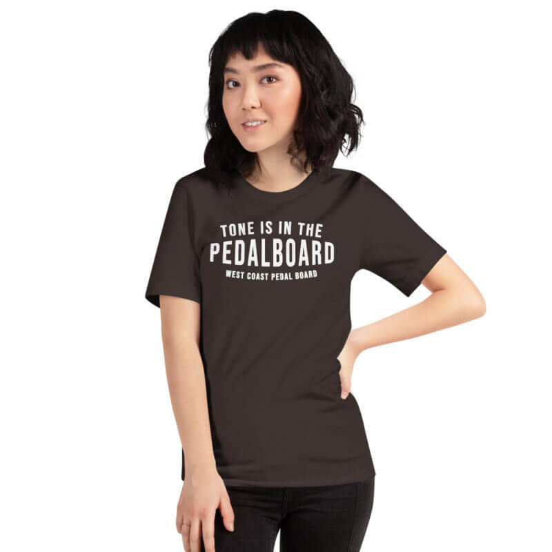 Short-Sleeve Dark Color Unisex T-Shirt - Tone is in the Pedal Board 4