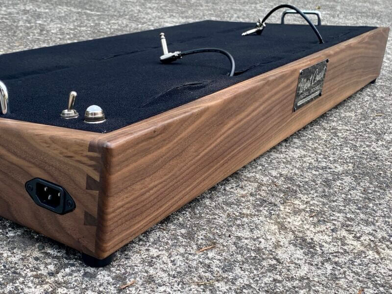 Walnut Pedalboard