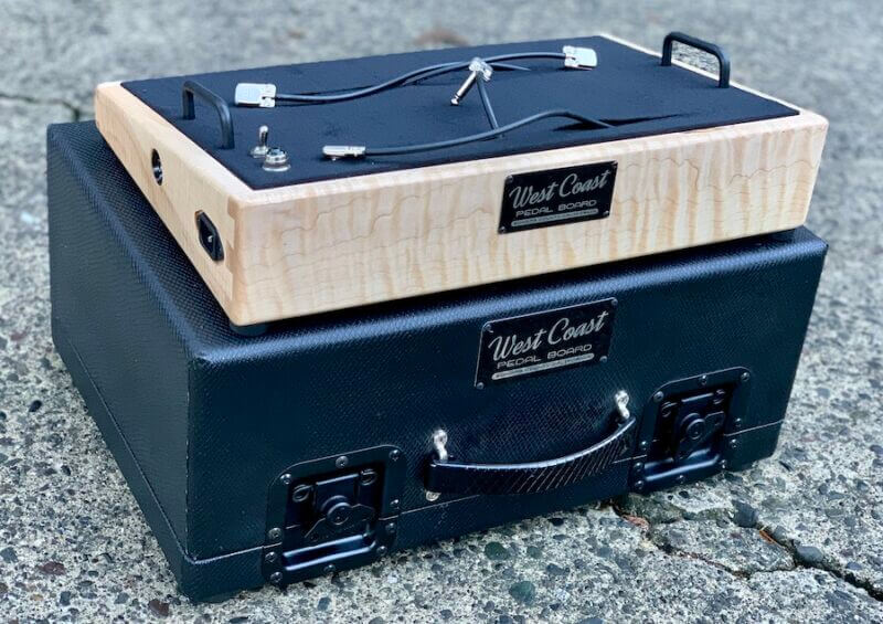 Maple Pedalboard and Case