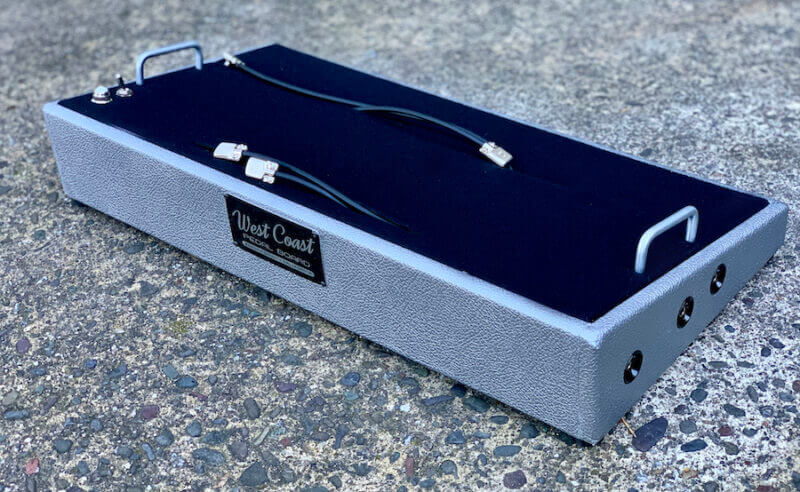 24X12 Silver Pedalboard ***NEW FINISH*** + Ready to Ship 3