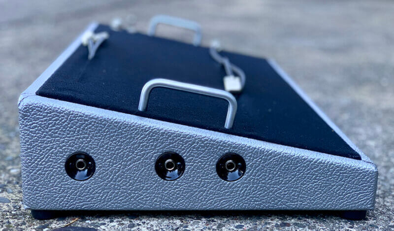 24X12 Silver Pedalboard ***NEW FINISH*** + Ready to Ship 4