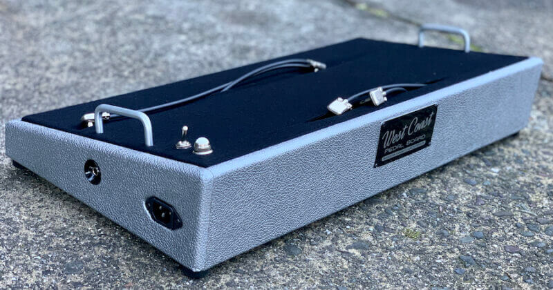 24X12 Silver Pedalboard ***NEW FINISH*** + Ready to Ship 5