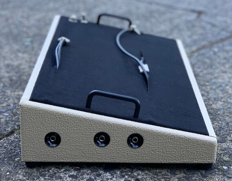 24X12 Fender® Style Rough Blonde Pedalboard - Ready to Ship 7