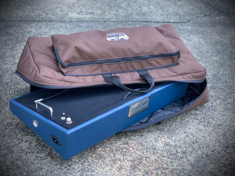 24X12 Navy Blue Pedalboard - Ready to Ship 2