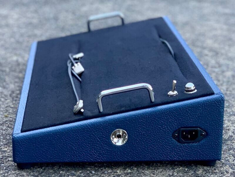 24X12 Navy Blue Pedalboard - Ready to Ship 4