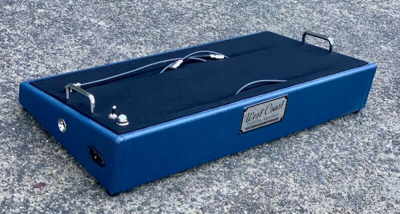 24X12 Navy Blue Pedalboard - Ready to Ship 6