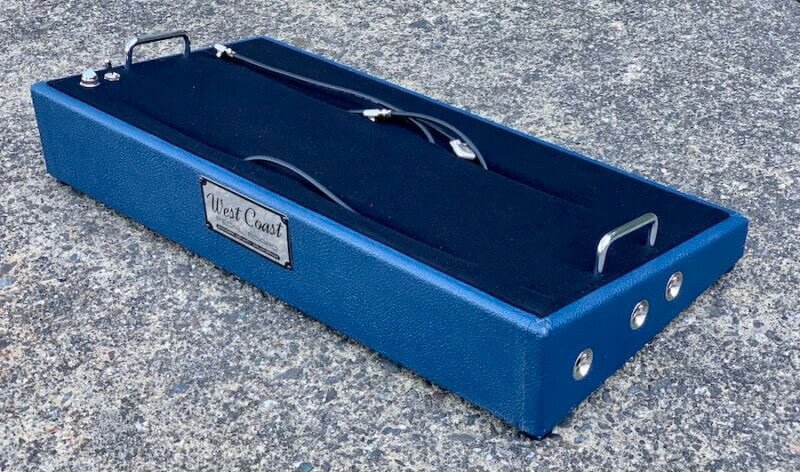 24X12 Navy Blue Pedalboard - Ready to Ship 7