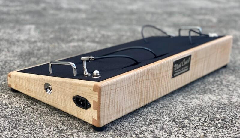 Flame Maple Pedalboard